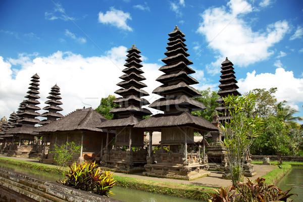 Királyi templom Bali Indonézia épület építészet Stock fotó © tommyandone