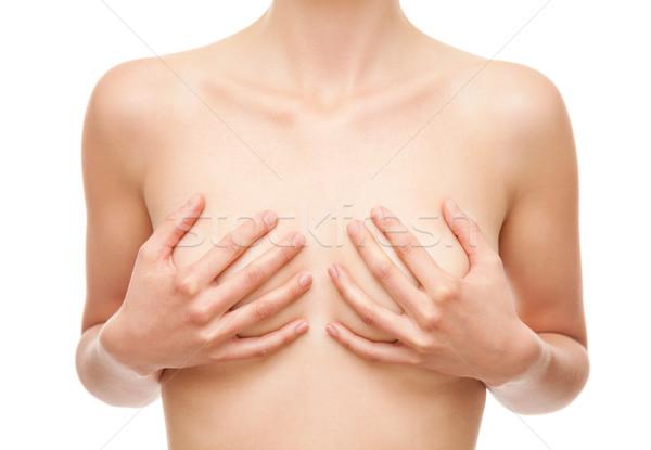 Stockfoto: Borstkanker · gezondheidszorg · medische · bewustzijn · lichaam · gezondheid