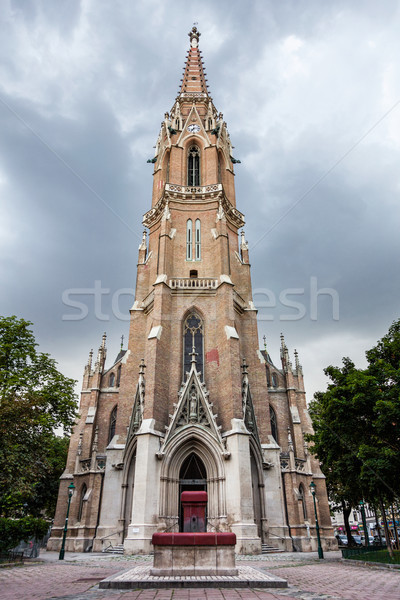 St. Othmar among the white tanners Catholic church in Vienna Stock photo © tommyandone