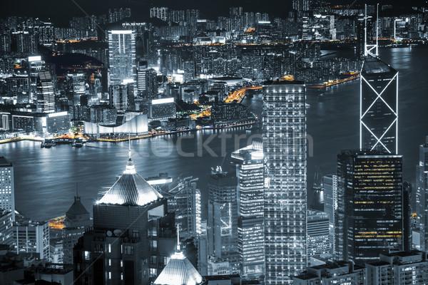 Hong Kong skyscrapers  Stock photo © tommyandone