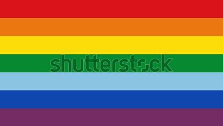 инка люди флаг большой размер иллюстрация Сток-фото © tony4urban