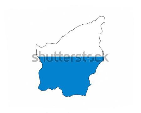Сан-Марино флаг карта стране форма Сток-фото © tony4urban