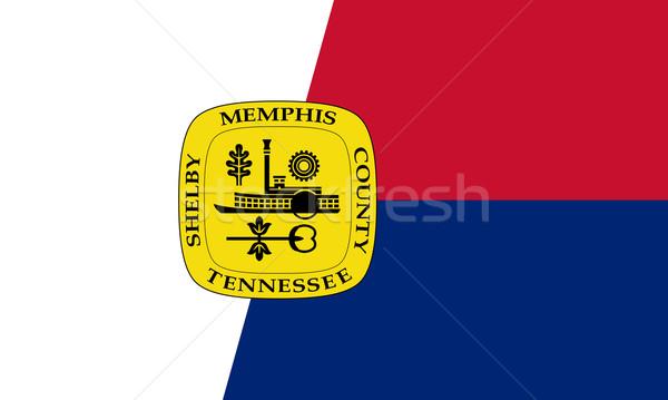 memphis flag Stock photo © tony4urban