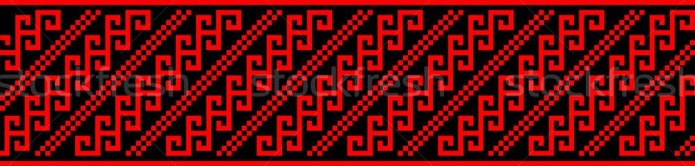 Serbia tradicional étnicas traje Foto stock © tony4urban
