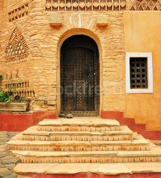 agadir medina door Stock photo © tony4urban