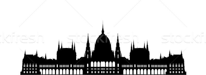 Budapest Parliament Building Stock photo © tony4urban
