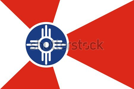 Wichita flag Stock photo © tony4urban