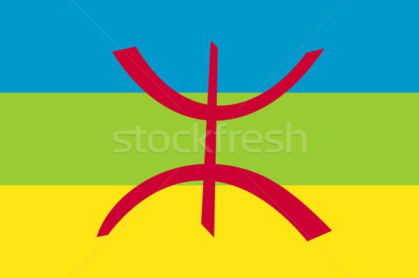 berber flag Stock photo © tony4urban