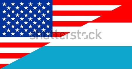 EUA Armênia Estados Unidos américa metade país Foto stock © tony4urban