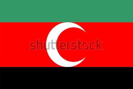 darfur flag Stock photo © tony4urban