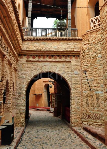 agadir medina archway Stock photo © tony4urban