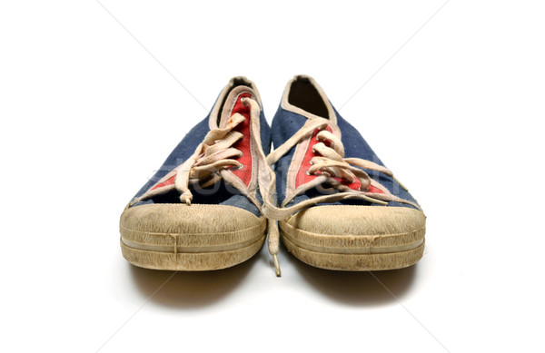 old dirty sneakers Stock photo © tony4urban