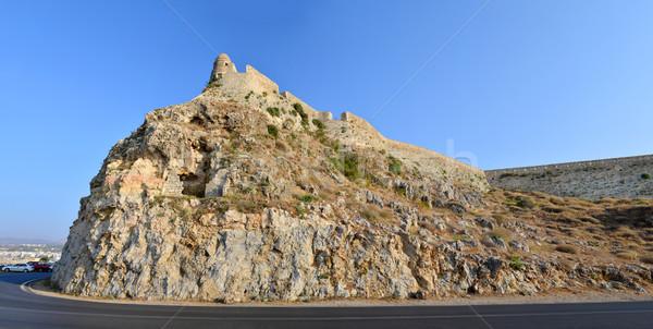 Cidade Grécia ponto de referência arquitetura parede Foto stock © tony4urban