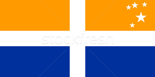 Isles of Scilly flag Stock photo © tony4urban