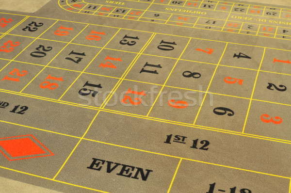 ルーレット レイアウト 画像 カジノ グレー 番号 ストックフォト © tony4urban
