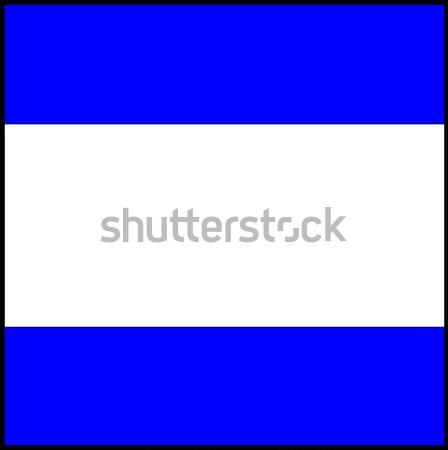 International maritime signal flag Stock photo © tony4urban
