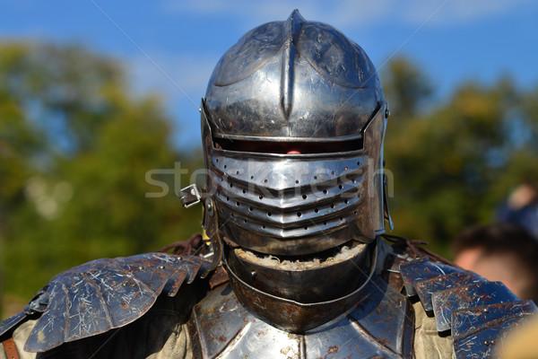 medieval armor knight Stock photo © tony4urban