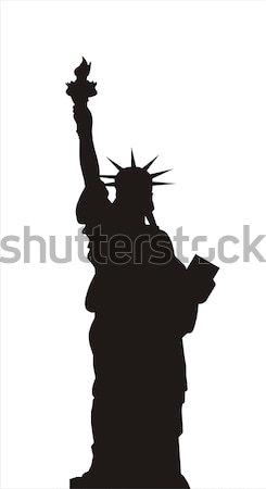 statue of liberty Stock photo © tony4urban