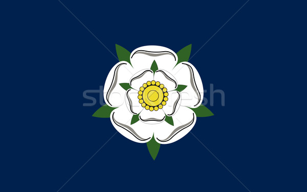 Йоркшир флаг люди этнических Англии стране Сток-фото © tony4urban