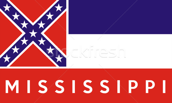 mississippi state flag Stock photo © tony4urban