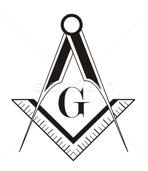 Stock photo: freemason symbol