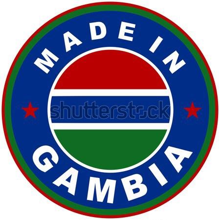 made in gambia Stock photo © tony4urban
