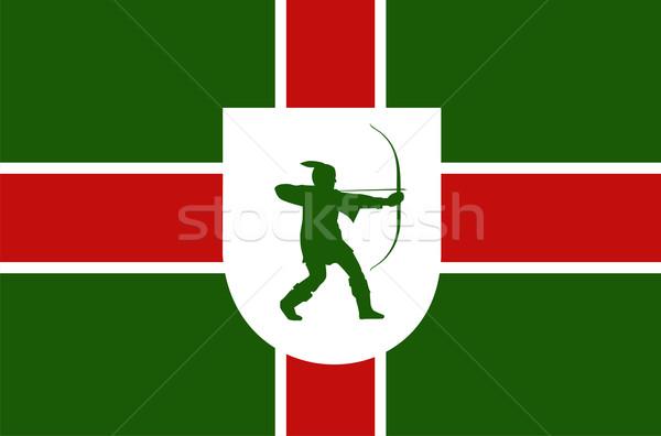 nottinghamshire flag Stock photo © tony4urban