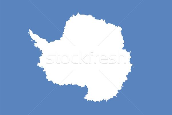 antarctica flag Stock photo © tony4urban