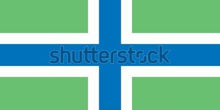 Gloucestershire flag Stock photo © tony4urban