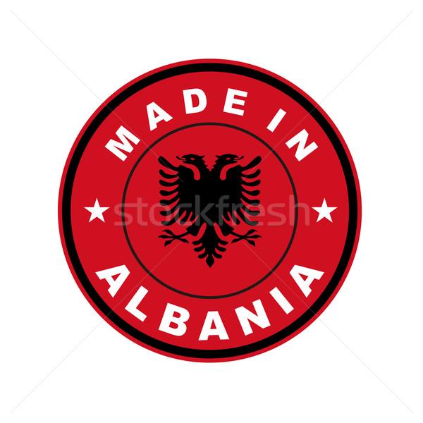 made in albania Stock photo © tony4urban