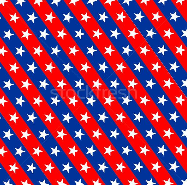 Amérique pavillon modèle pays symbole Photo stock © tony4urban