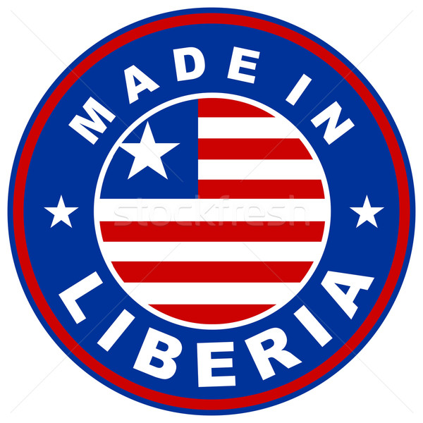 made in liberia Stock photo © tony4urban