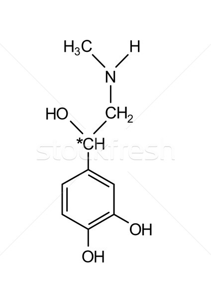 adrenaline chemical formula  Stock photo © tony4urban
