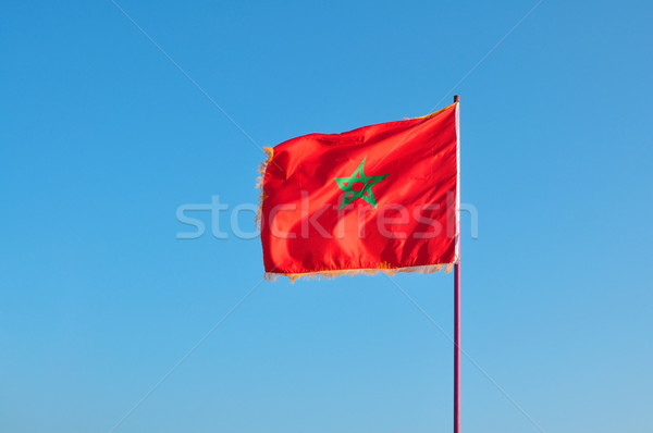 morocco flag Stock photo © tony4urban