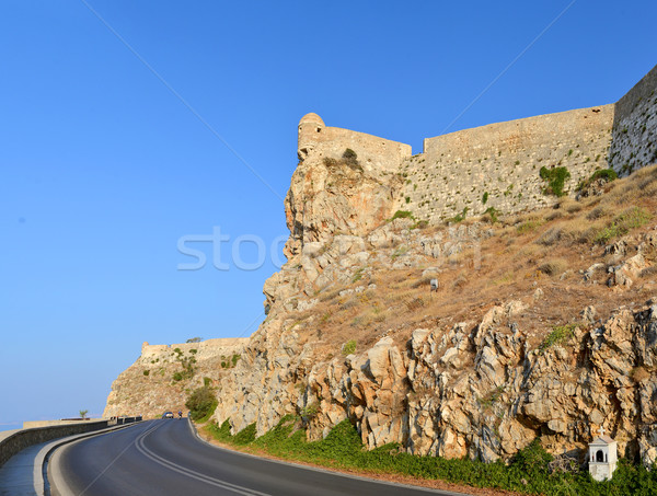 Rethymno Fortezza fortress Stock photo © tony4urban