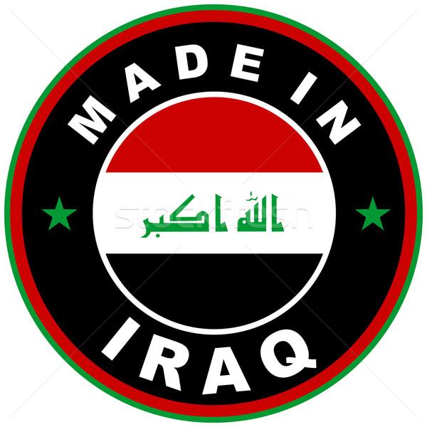 made in iraq Stock photo © tony4urban