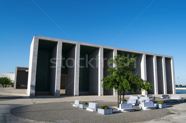 Modern Architecture in Lisbon Stock photo © tony4urban