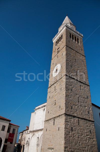 Koper Carmine Rotunda Church Stock photo © tony4urban