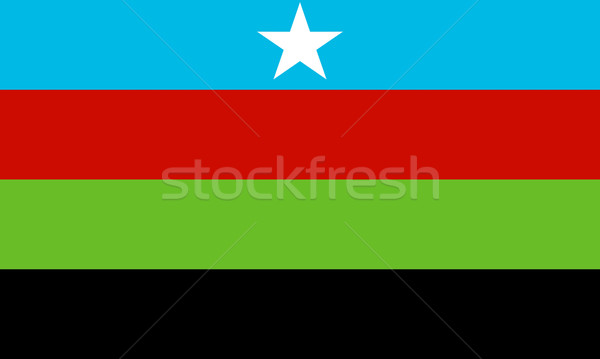 Somali Bantu flag Stock photo © tony4urban