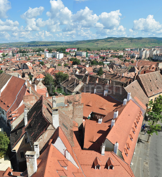sibiu city Stock photo © tony4urban