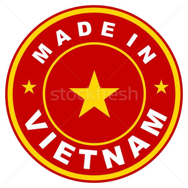 made in vietnam Stock photo © tony4urban