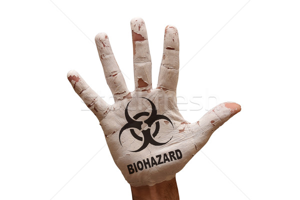 palm biohazard Stock photo © tony4urban