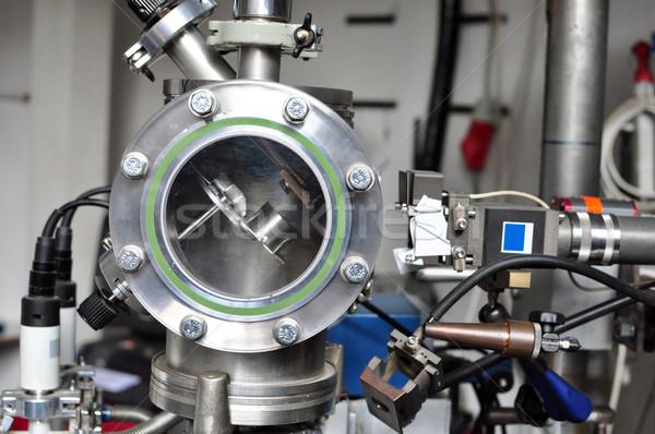 Industrial pormenor motor máquina Foto stock © tony4urban