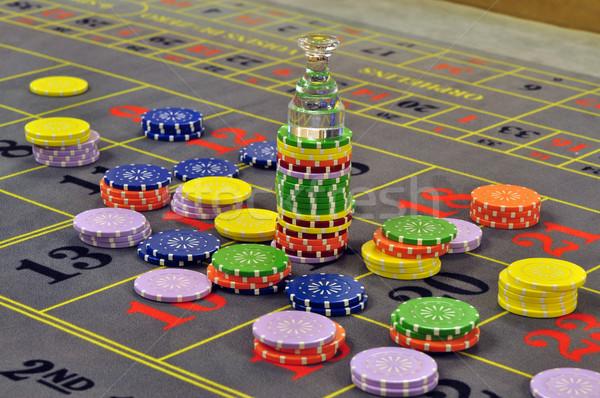 ビッグ 勝利 画像 カジノ ルーレット グレー ストックフォト © tony4urban