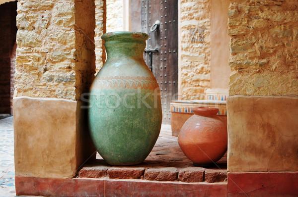 agadir medina vase Stock photo © tony4urban