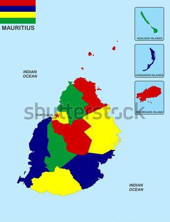 canada gay map Stock photo © tony4urban