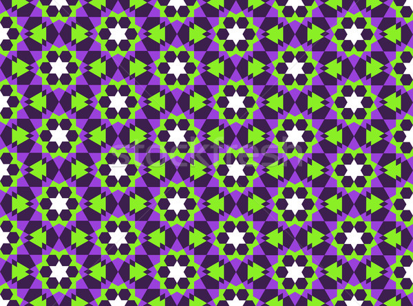 islamic geometric pattern Stock photo © tony4urban