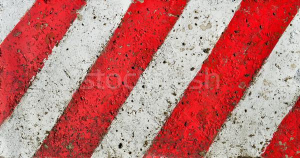 Diyagonal hatları boya model kaba Stok fotoğraf © tony4urban