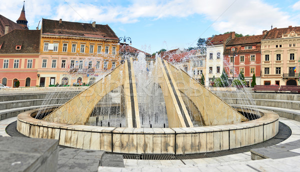 brasov fountain Stock photo © tony4urban