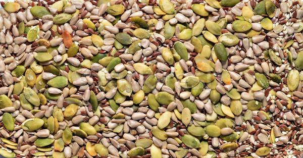miscellaneous seeds texture Stock photo © tony4urban